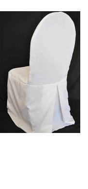Large White Chair Cover